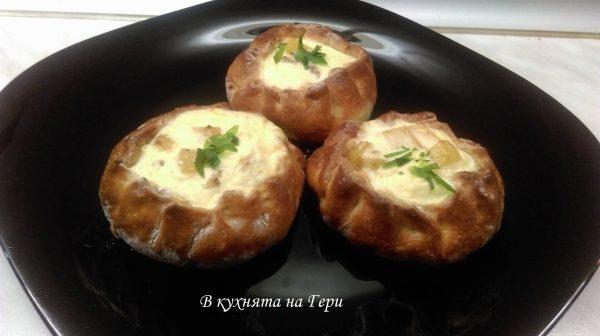 Мусака в тесто