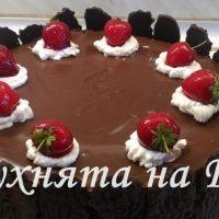 "Вкусна шоколадова торта"" Краса"""